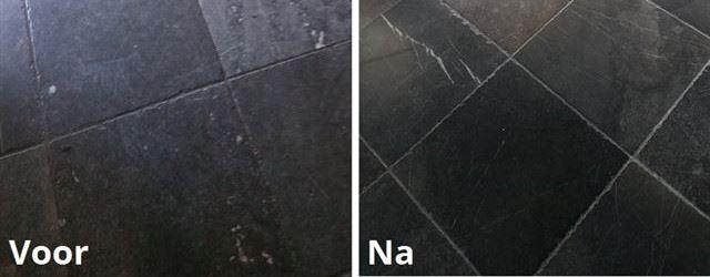 Natuurstenen vloer laten reinigen